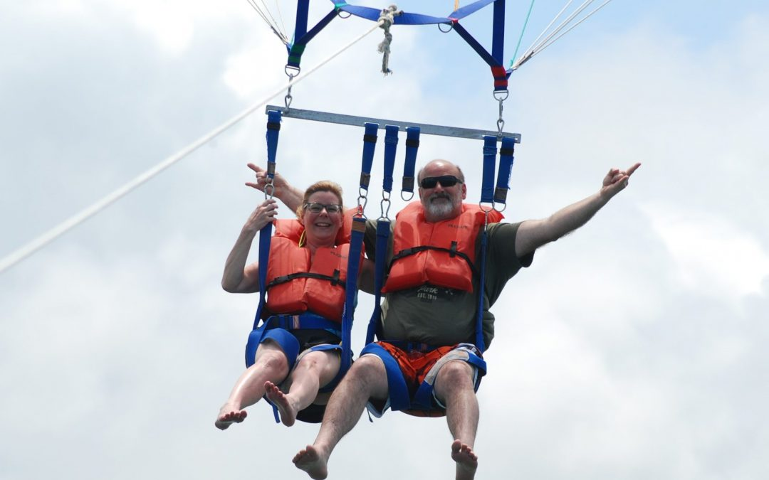 Chris and Rich on vaca